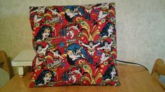 wonder woman  throw pillows by MawmaRosesCrafts on Etsy