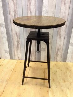 Cafe Style Table Industrial Vintage Aged Rust In Home, Furniture U0026 DIY,  Furniture,