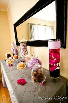 Ideas for a Candy Bar.