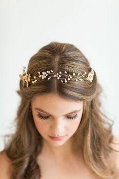 Gelinleri Bir Masal Prensesi Haline Getirme Garantili Birbirinden Şık 27 Saç Aksesuarı