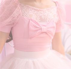 Little girl pink blow dress. Kawaii Fashion, Lolita Fashion, Cute Fashion, Asian Fashion, Gyaru Fashion, Ulzzang Fashion, Visual Kei, Mode Kawaii, Kawaii Shop