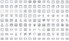 Batch: pack con 300 iconos gratuitos de gran calidad, para la web y la interfaz de usuario