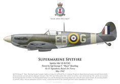 Spitfire 41 Sqn RAF 1941