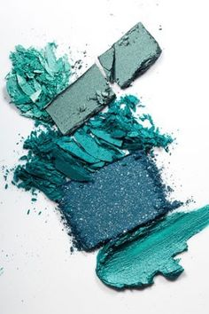 ocean turquoise make up palette