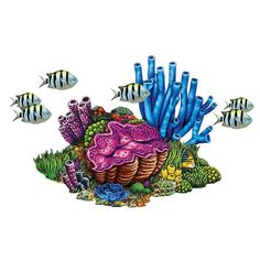 Our handcrafted Coral Reef with Fish pool mosaic will add a creative touch to your new or refinished swimming pool. Coral Reef Drawing, Coral Reef Art, Coral Reefs, Fish Pool, Swimming Pool Mosaics, Pool Tiles, Coral Tattoo, Tatoo Manga, Sea Plants