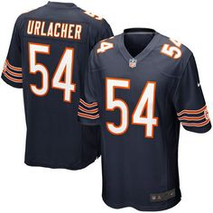 Nike Brian Urlacher Chicago Bears Youth Game Jersey - Navy Blue - $69.99