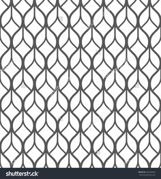 Abstract geometric seamless pattern. Black and white pattern.
