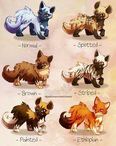 Poochyena variations by ShinePawArt on DeviantArt - Pokemon Pokemon Fusion Art, Pokemon Fan Art, O Pokemon, Pokemon Games, Cute Animal Drawings, Cute Drawings, Pokemon Breeds, Cute Pokemon Pictures, Cute Pokemon Wallpaper