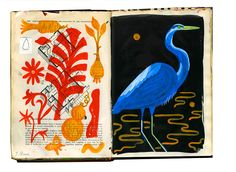 Julianna Brion - A Blue Heron