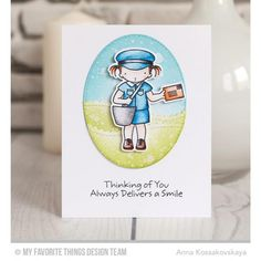 My Favorite Things Clear Stamps, Pure Innocence - You've Got Mail -