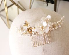 We love this delicate piece from one of our favourite Etsy shops ABitofLoveWedding  Handcraft bridal headpieces and accessories    For more wedding inspiration check out our blog www.creativeweddingco.com