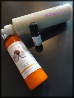 Chez Nounoune - Tambouilles et Gourmandises: Après shampoing coco-vanille (test de le fragrance fleur de vanille)