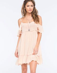 OTHERS FOLLOW Cold Shoulder Dress