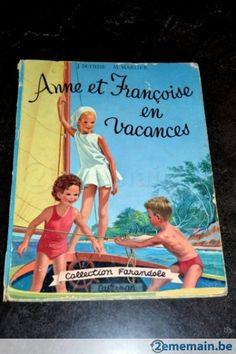 Anne et Françoise en vacances-CASTERMAN-collection Farandole
