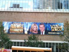 Live ! with Regis & Kelly - November 2011 - NYC