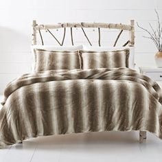 Product Image for Leena Reversible Cozy Faux Fur Comforter Set in Grey 1 out of 2