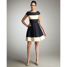 kate spade addete colorblock dress