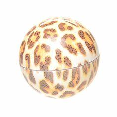EOS leopard print lip balm<3 LOVE! Want!