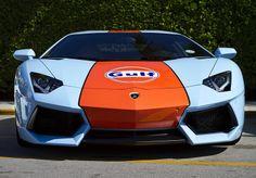 Lamborghini Aventador Gulf