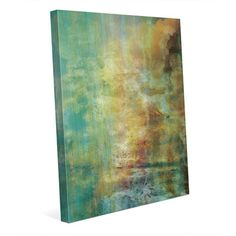 "Click Wall Art 'The Mountain Dream' Painting Print on Wrapped Canvas Size: 30"" H x 20"" W x 1.5"" D"