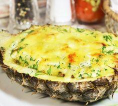 Запеченный ананас с фарш…