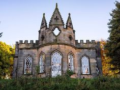 The Banqueting House, near Newcastle, is an 18th-century Gothic folly that sits on the edge of the Gibside estate, one of England's most impressive country estates.