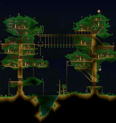 Made a tree house a while back, forgot to post - Imgur