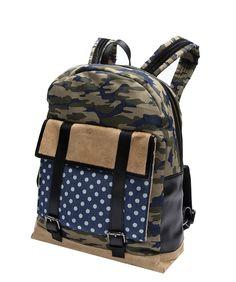 9035c276bba3 Camo x Polka Dot Denim Backpack - Timo Weiland e-Shop Denim Backpack