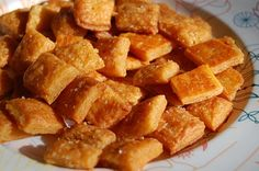 Homemade Cheez-It Cr
