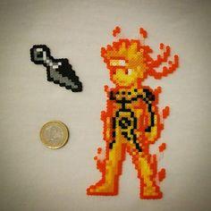 Naruto hama beads by 8bit_bomb