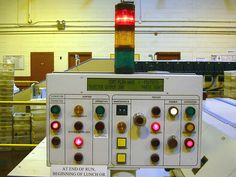 20030724 - USPS - AFSM (Automated Flats Sorting Machine) - control panel - 100-0077 by Rev. Xanatos Satanicos Bombasticos (ClintJCL), via Flickr