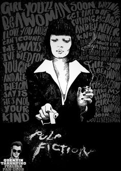 Pulp fiction - uge overkill - girl, you'll be a woman soon