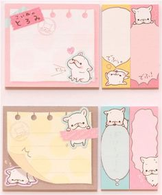 Toromi French Bulldog dog Post-it sticky notes book 1 Kawaii Planner, Happy Planner, Arc Planner, Planner Diy, Cute Office Supplies, Cute Stationary, Cute Notes, Kawaii Stationery, Stickers
