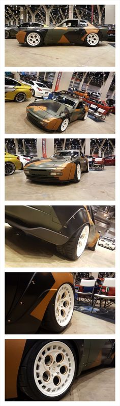 Outlaw Porsche 944 951 Turbo Wide-body custom