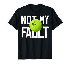 Tennis Shirts, My Fault, Cat, Amazon, Clothing, Mens Tops, T Shirt, Collection, Fashion