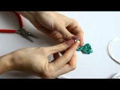 Сборка украшений — серьги с овальными колечками - YouTube