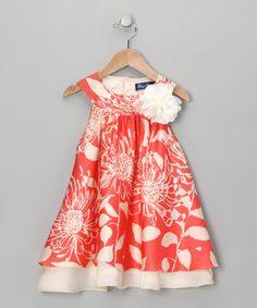 Blue Pearl - Peach Isabella Dress