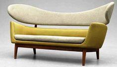 Sofa by Finn Juhl Danish Modern Furniture, Couch Furniture, Scandinavian Furniture, Mid Century Modern Furniture, Furniture Styles, Furniture Design, Couch To 5km, Mid Century Sofa Bed, Mid-century Modern