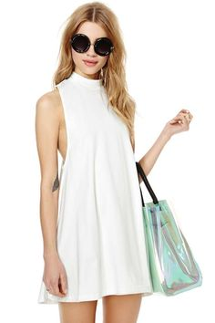 Nasty Gal White Lie Dress | Shop What's New at Nasty Gal