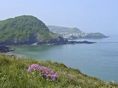 Ilfracombe, seen here from Rillage Point, North Devon. I want to hike all along the coast of North Devon.