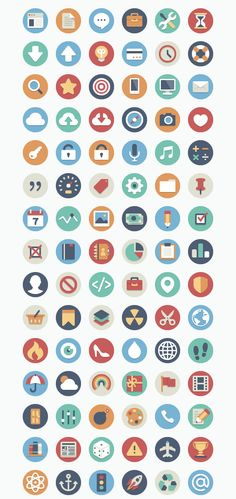 Beautiful Flat Icons