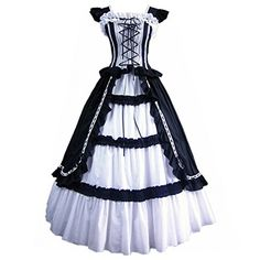 Partiss Women Evening Gothic Lolita Dress,x-large,black F... http://www.amazon.com/dp/B00EE281AQ/ref=cm_sw_r_pi_dp_2oNpxb0N1Q7Q0