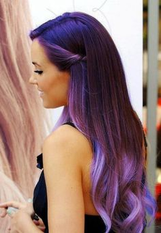 25 Beautiful Colored Hairstyles; Do it or not? I would have to buy a wig..can't color my hair..I break out. And it sucks I like different colored hair.