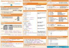Data Science in Python: Pandas Cheat Sheet