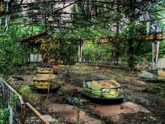 Pripyat, a ghost town near the Chernobyl Nuclear Power Plant