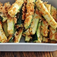 Skinny Zucchini Fries | Insanely Delish healthy fries | Healthy, Satisfying, Guilt-free Comfort Food | For MORE RECIPES please SIGN UP for our FREE NEWSLETTER www.NutritionTwins.com