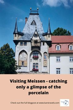Meissen in Germany is world-famous for it's porcelain. When visiting Meissen, my wife and I only caught a glimpse of the porcelain though.. Famous German Artists, World Famous, The Visitors, Travel Aesthetic, Germany Travel, Travel Essentials, Travel Quotes, Travel Guide, Travel Destinations
