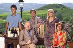 "Giacomo Oddero and his family in La Morra. Wines? Barolo, Barbaresco, Dolcetto d'Alba, Barbera d'Alba & d'Asti, Langhe Nebbiolo, Moscato d'Asti, Langhe Rosso. ""The future belongs to the young"" http://www.winepassitaly.it/index.php/en/magazine/interviews/item/1114-giacomo-oddero-interview-wine-future"
