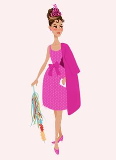 Audrey in Pink by DylanBonner. Deviantart
