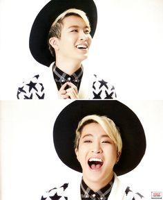 Youngjae He's to cute~^^